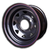Off Road Wheels 7x15 5x139.7 ET-19 D110